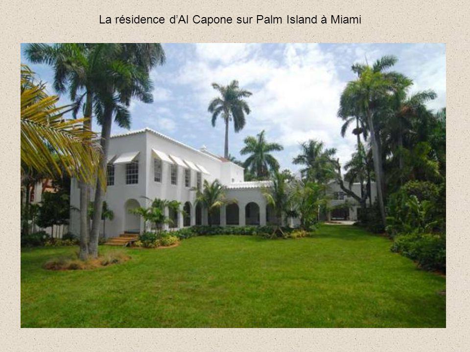 La résidence d'Al Capone sur Palm Island à Miami