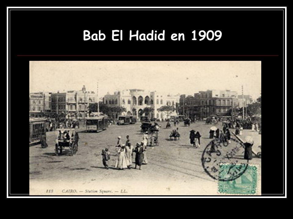 Bab El Hadid en 1909