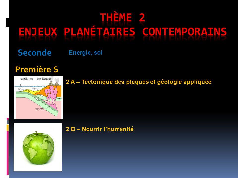 Thème 2 enjeux planétaires contemporains