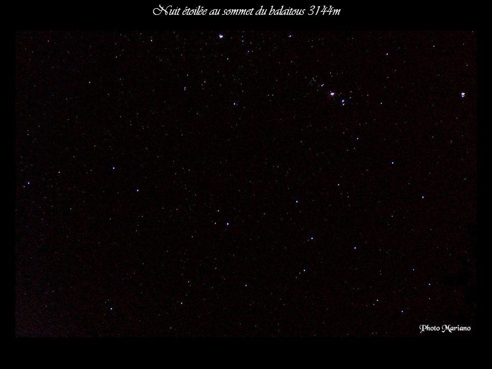 Nuit étoilée au sommet du balaitous 3144m