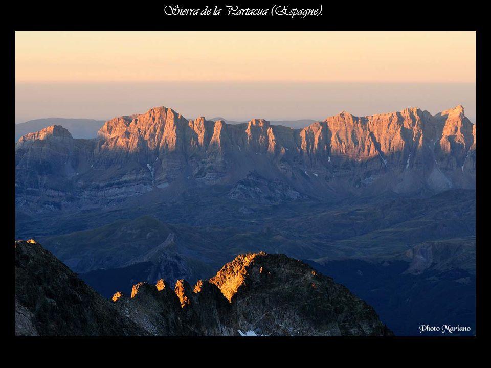 Sierra de la Partacua (Espagne).