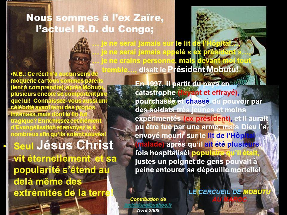 Contribution de jtmichking@yahoo.fr Avril 2008