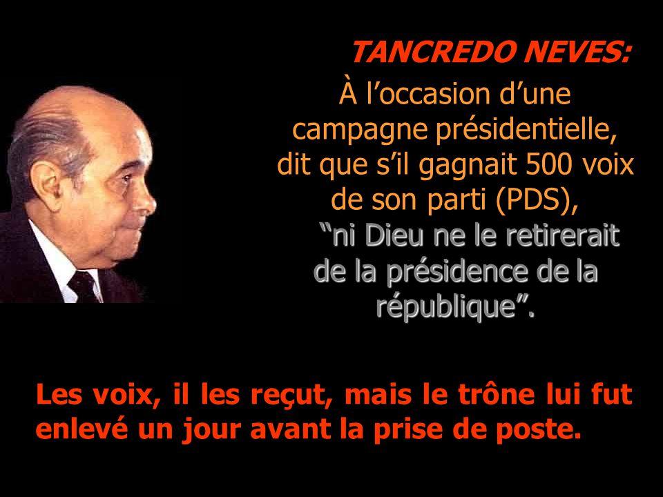 TANCREDO NEVES: