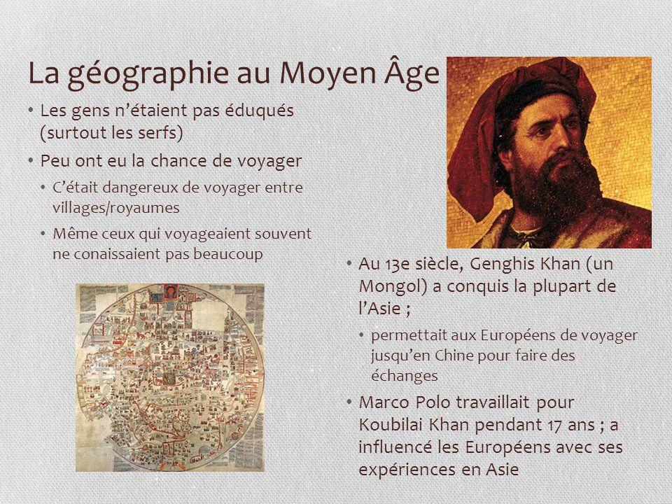 La géographie au Moyen Âge