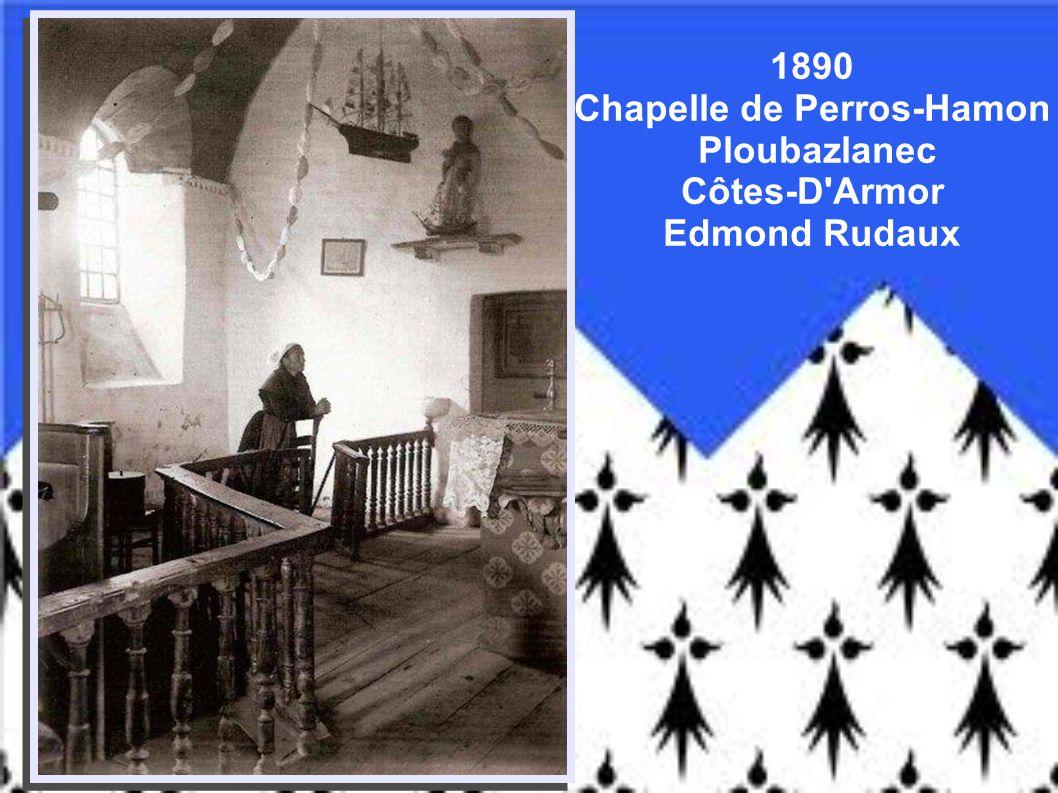 1890 Chapelle de Perros-Hamon Ploubazlanec Côtes-D Armor Edmond Rudaux