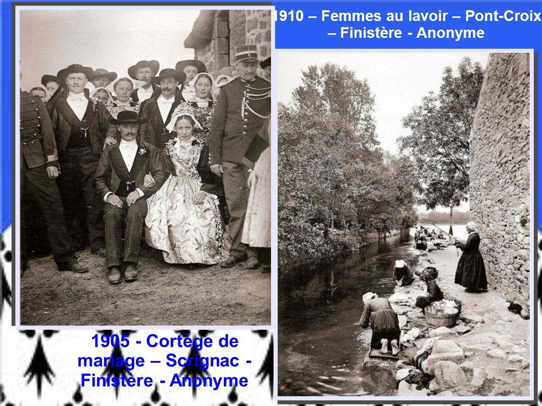 1910 – Femmes au lavoir – Pont-Croix – Finistère - Anonyme