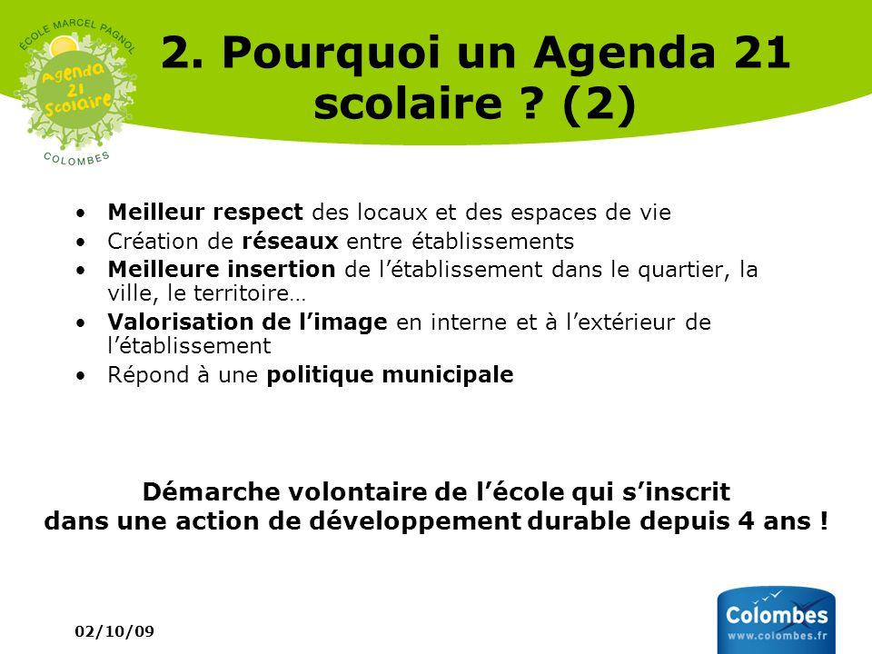2. Pourquoi un Agenda 21 scolaire (2)