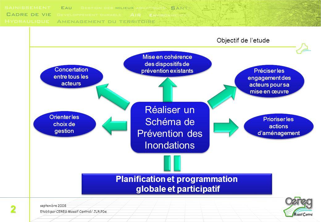Planification et programmation globale et participatif