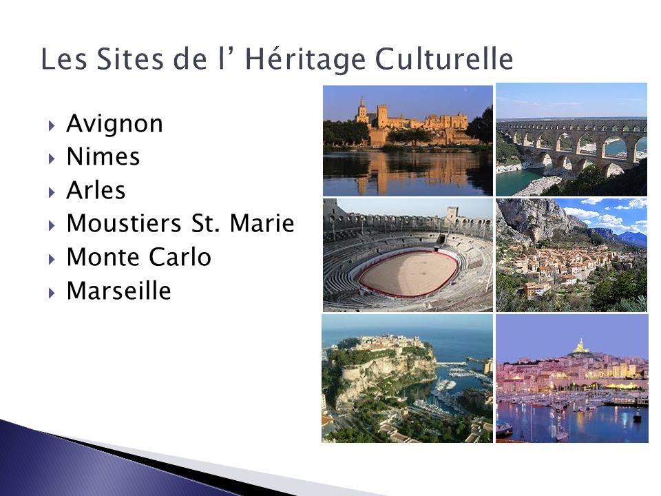 Les Sites de l' Héritage Culturelle