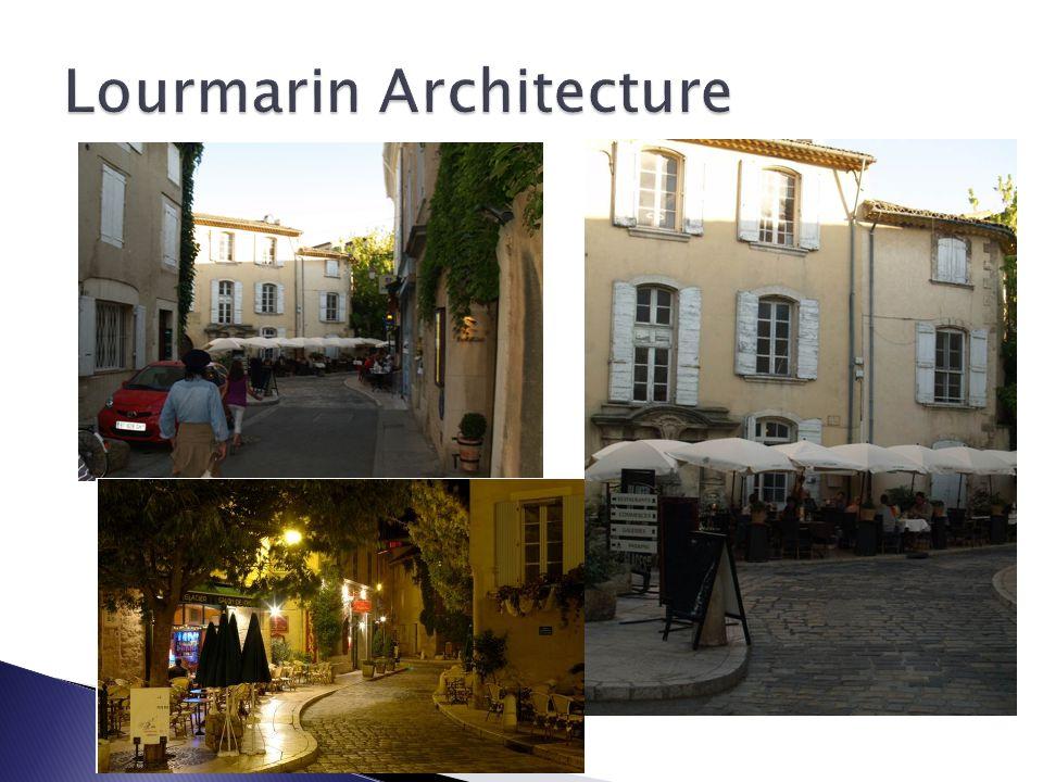 Lourmarin Architecture