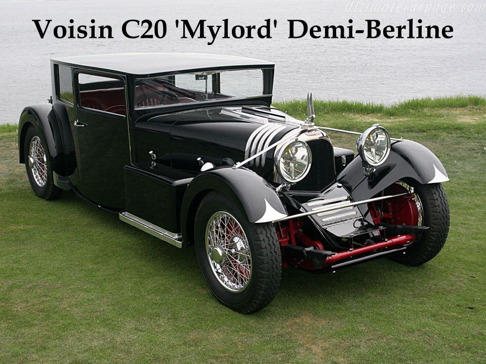 Voisin C20 Mylord Demi-Berline