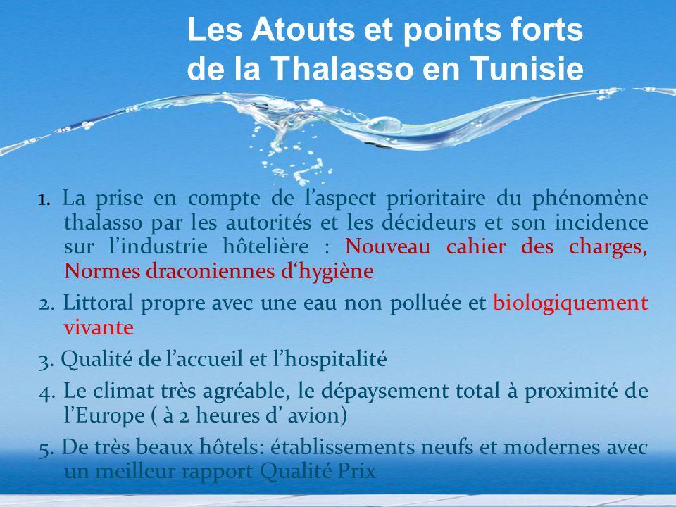 Les Atouts et points forts de la Thalasso en Tunisie