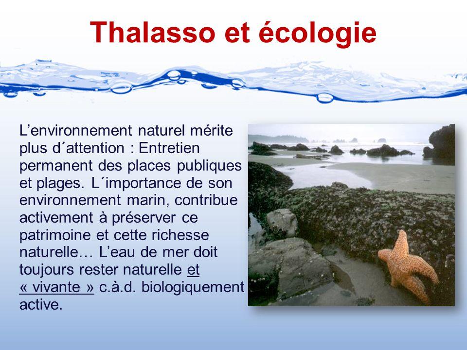 Thalasso et écologie