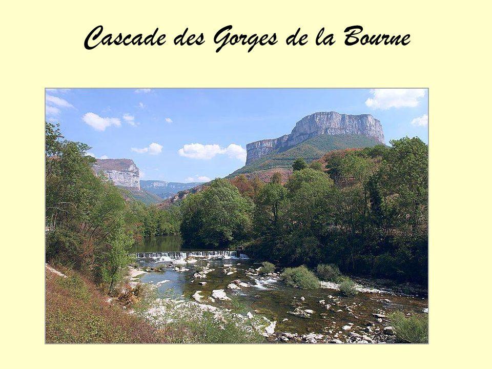 Cascade des Gorges de la Bourne