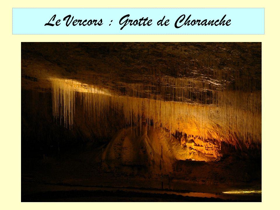 Le Vercors : Grotte de Choranche