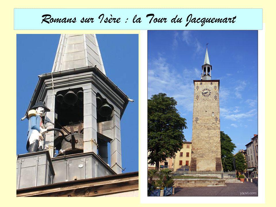Romans sur Isère : la Tour du Jacquemart