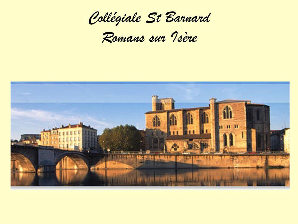 Collégiale St Barnard Romans sur Isère