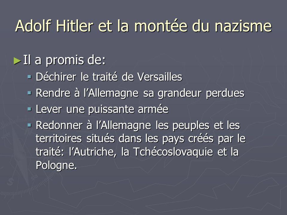 Adolf Hitler et la montée du nazisme