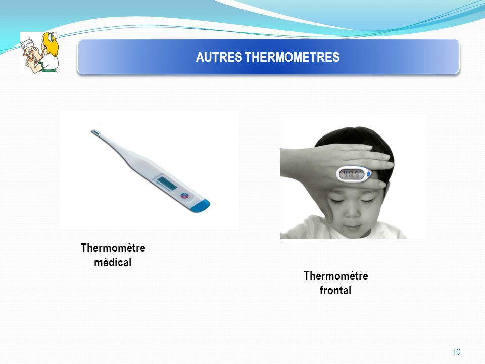 AUTRES THERMOMETRES Thermomètre médical Thermomètre frontal