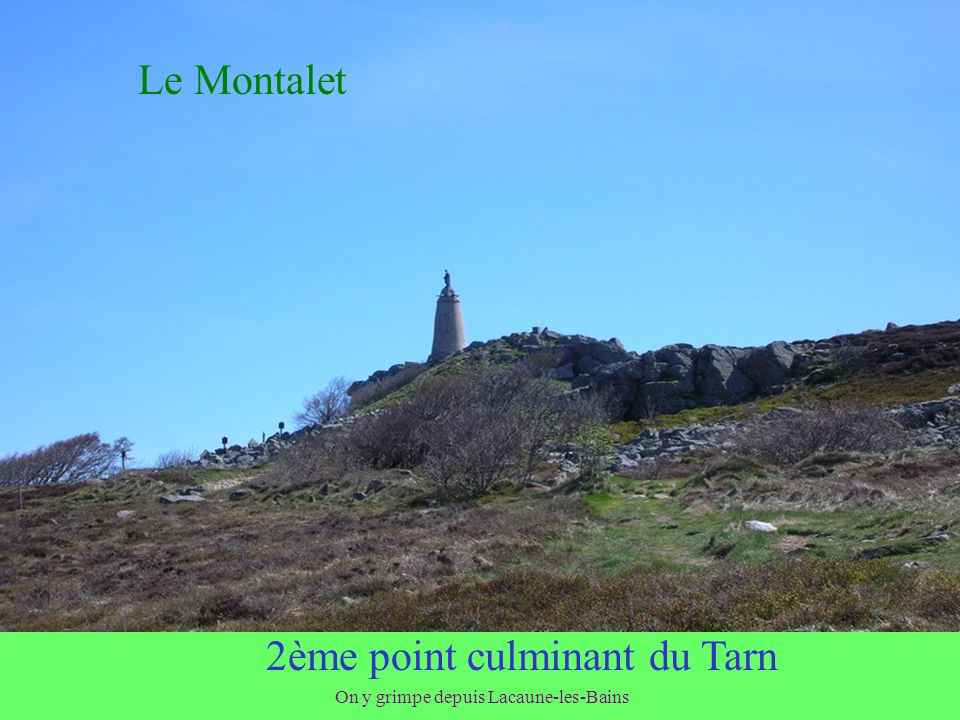 2ème point culminant du Tarn