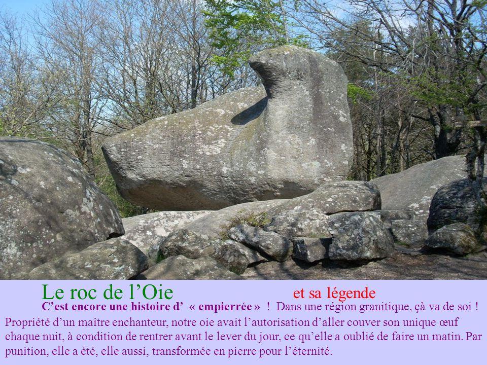 Le roc de l'Oie et sa légende