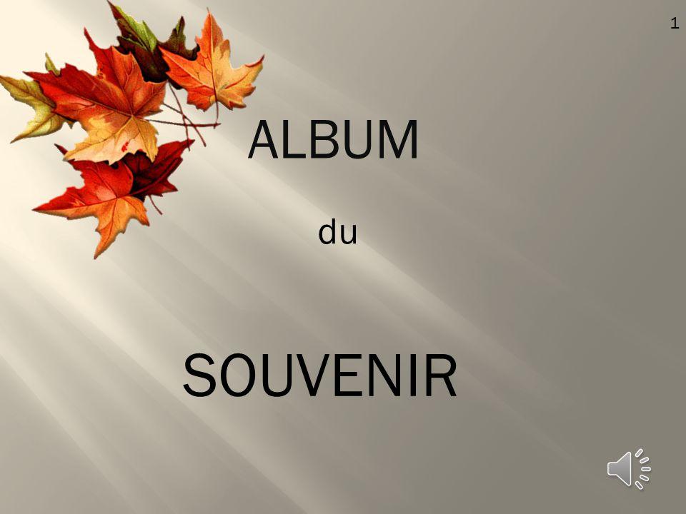 1 ALBUM du SOUVENIR