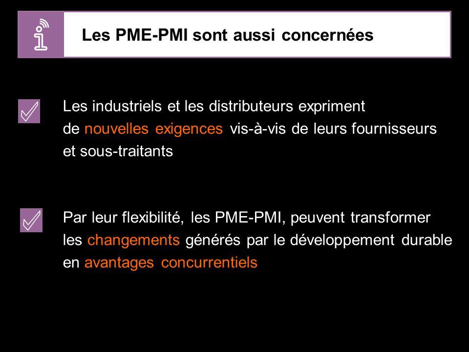 Les PME-PMI sont aussi concernées