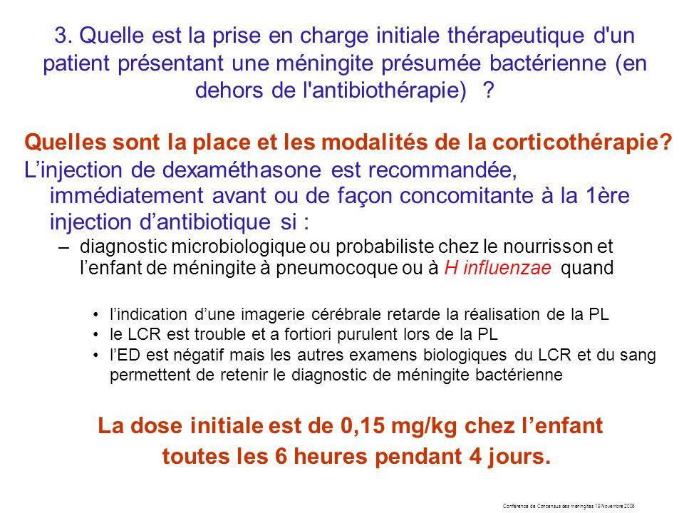 La dose initiale est de 0,15 mg/kg chez l'enfant
