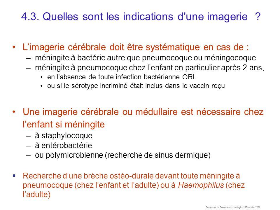 4.3. Quelles sont les indications d une imagerie