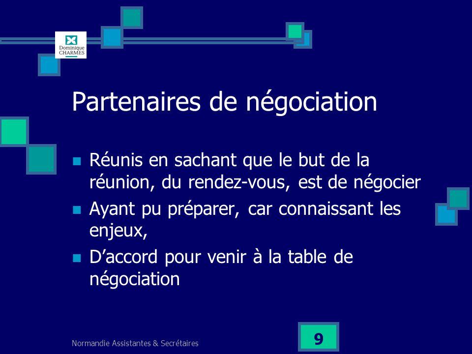 Partenaires de négociation