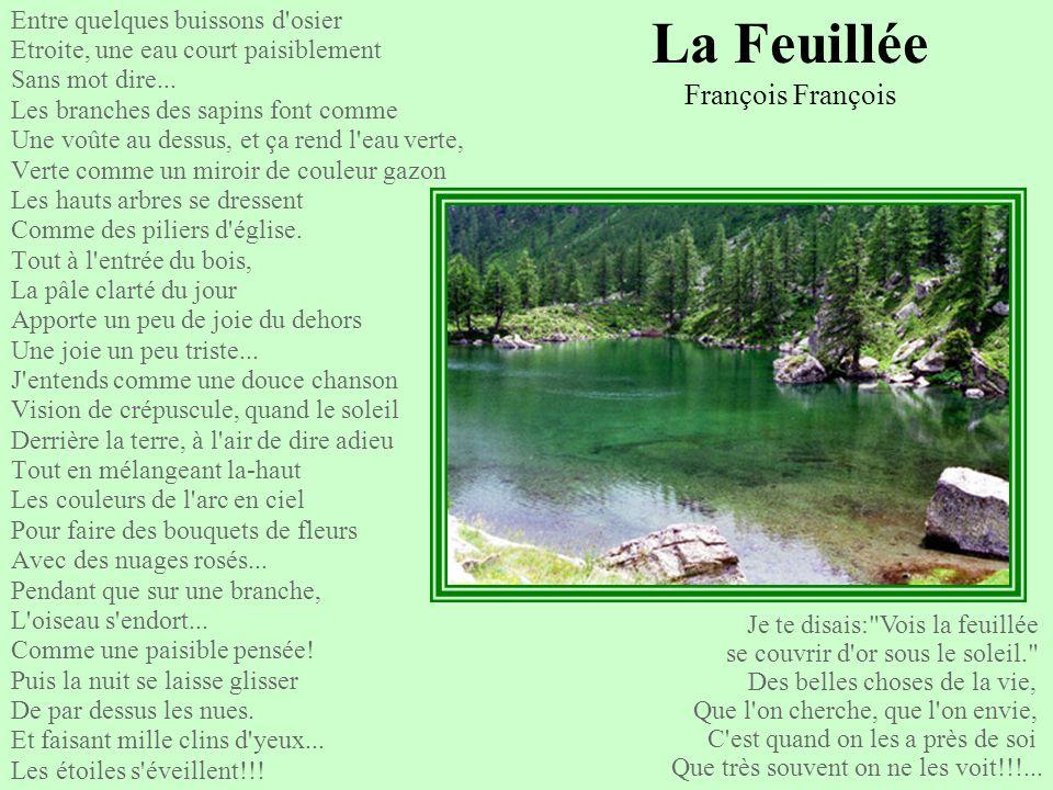 La Feuillée François François