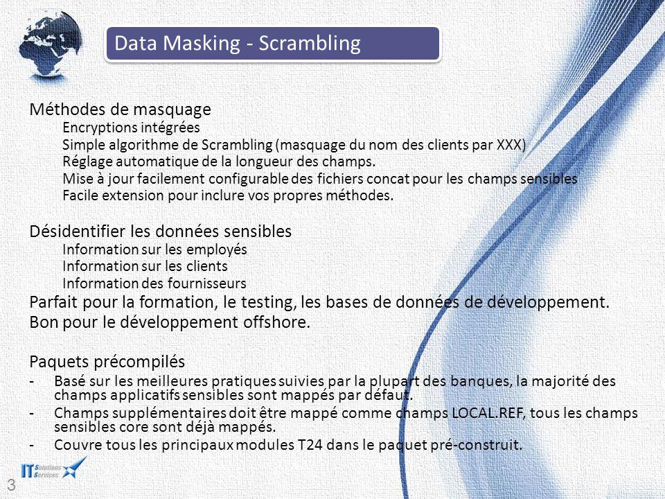 Data Masking - Scrambling