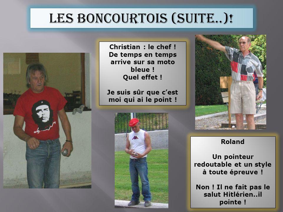 Les boncourtois (suite..)!