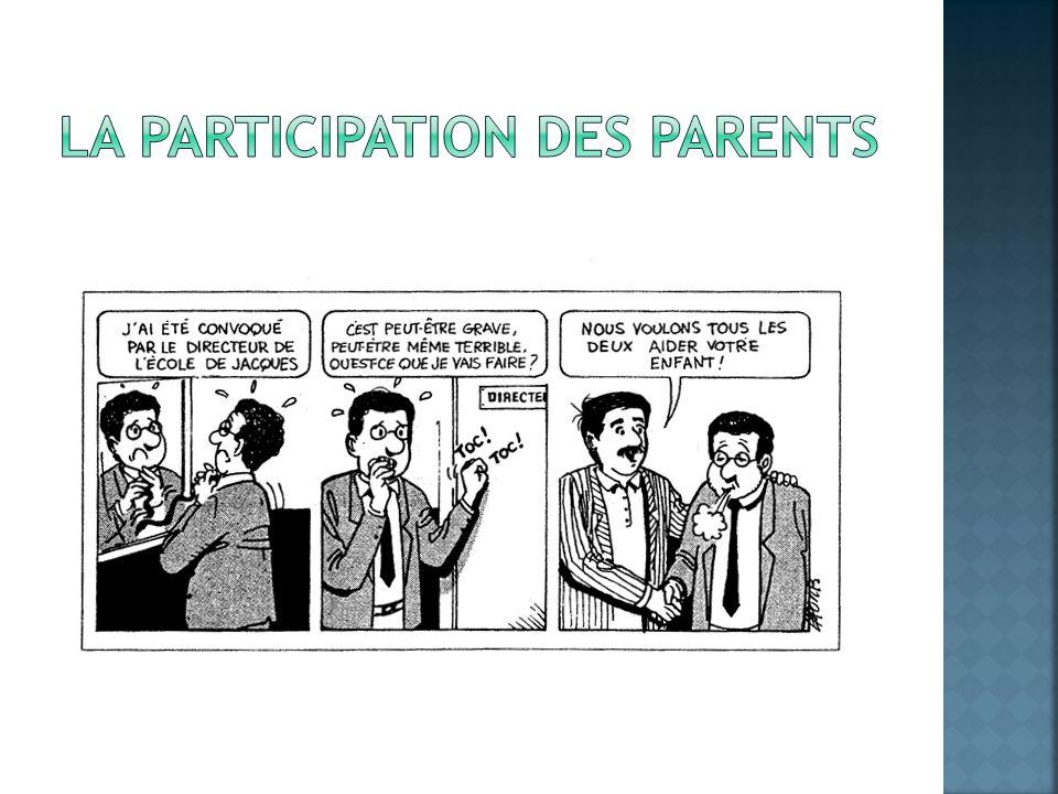 La participation des parents