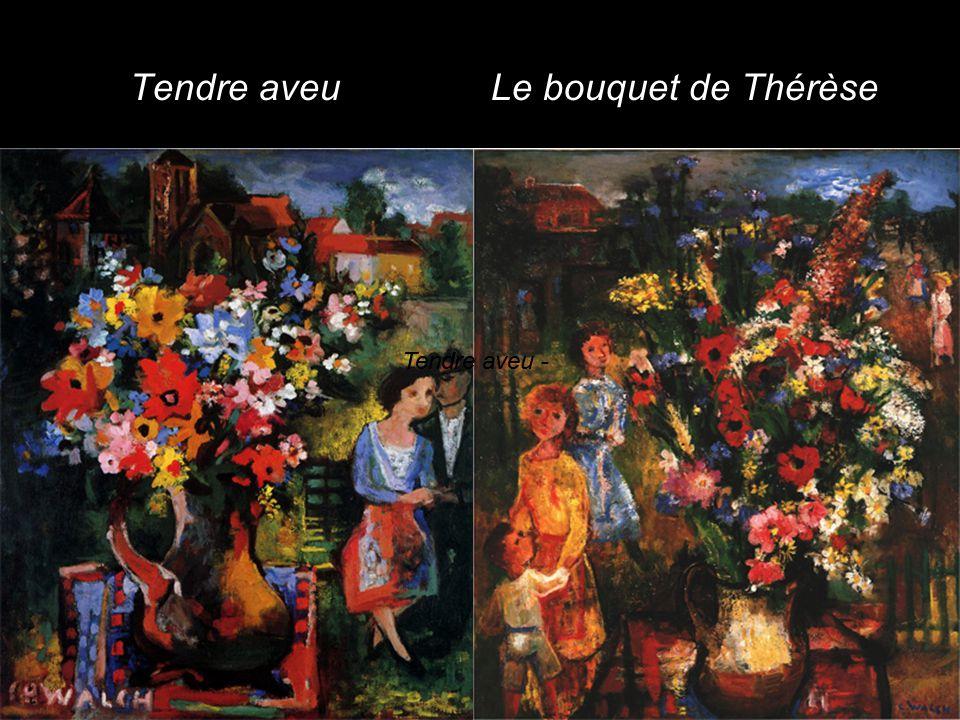 Tendre aveu - Le bouquet de Thérèse
