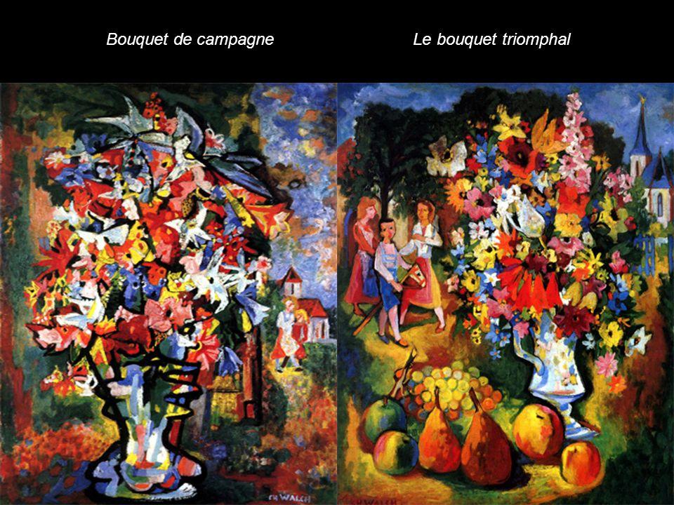Bouquet de campagne Le bouquet triomphal
