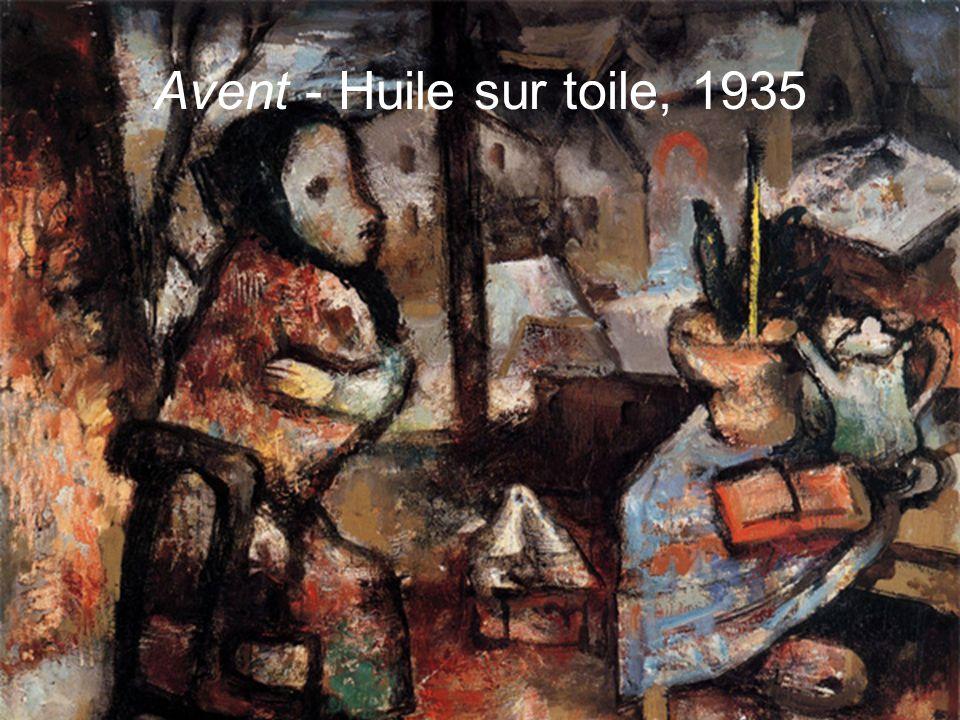 Avent - Huile sur toile, 1935