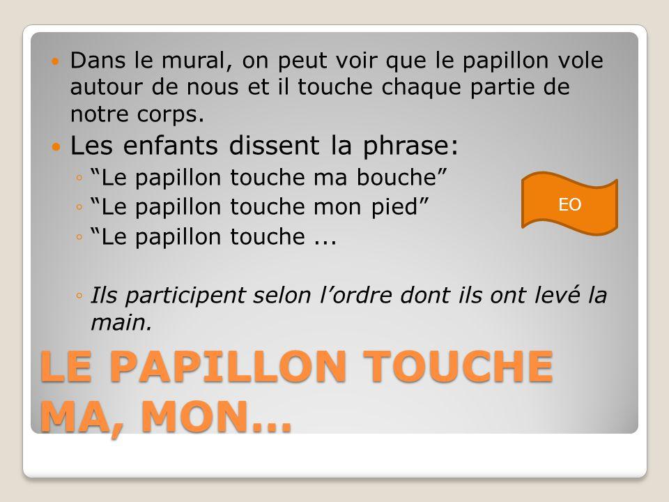 LE PAPILLON TOUCHE MA, MON…