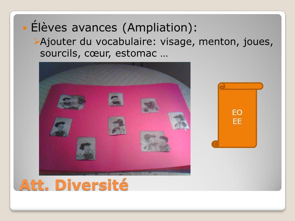 Att. Diversité Élèves avances (Ampliation):