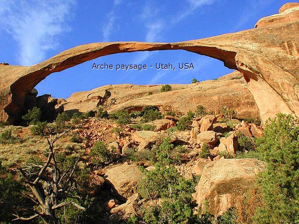 Arche paysage - Utah, USA