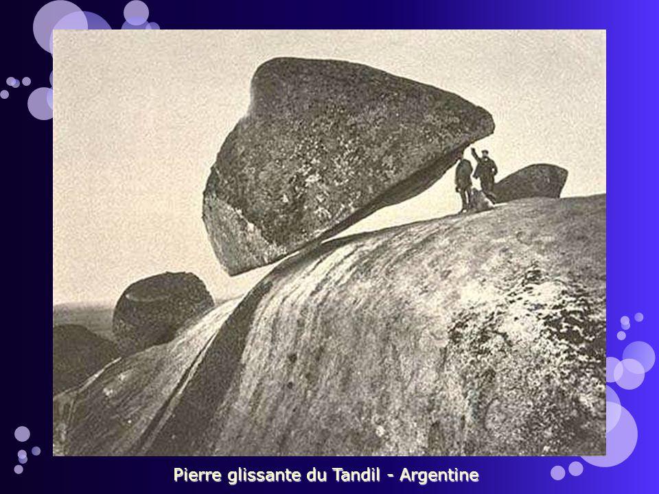 Pierre glissante du Tandil - Argentine