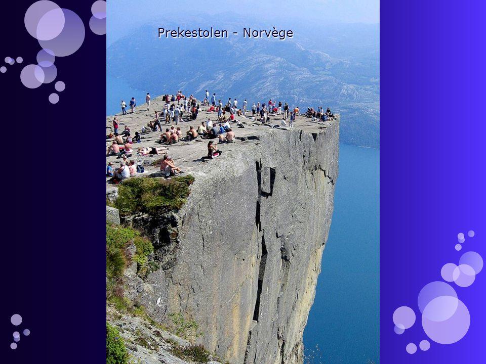 Prekestolen - Norvège