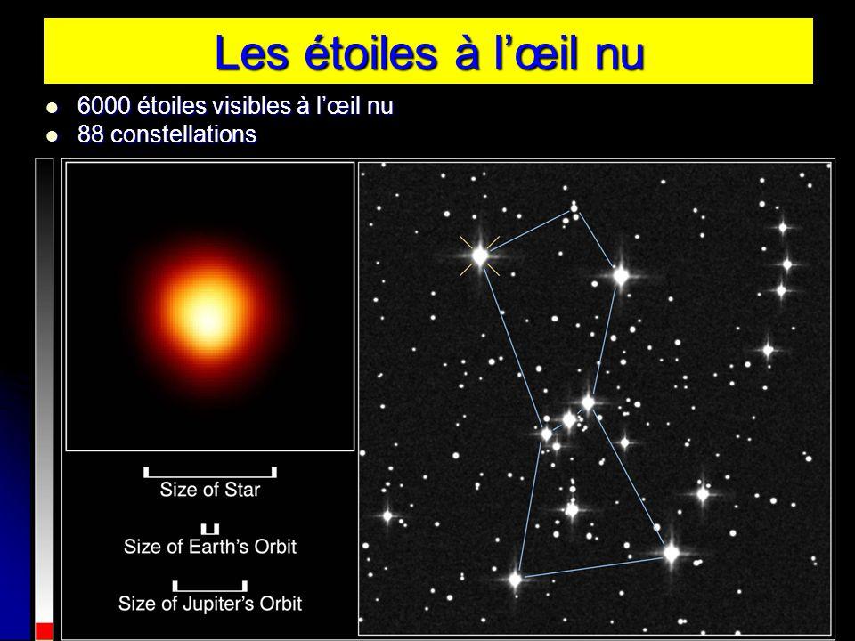 Les étoiles à l'œil nu 6000 étoiles visibles à l'œil nu