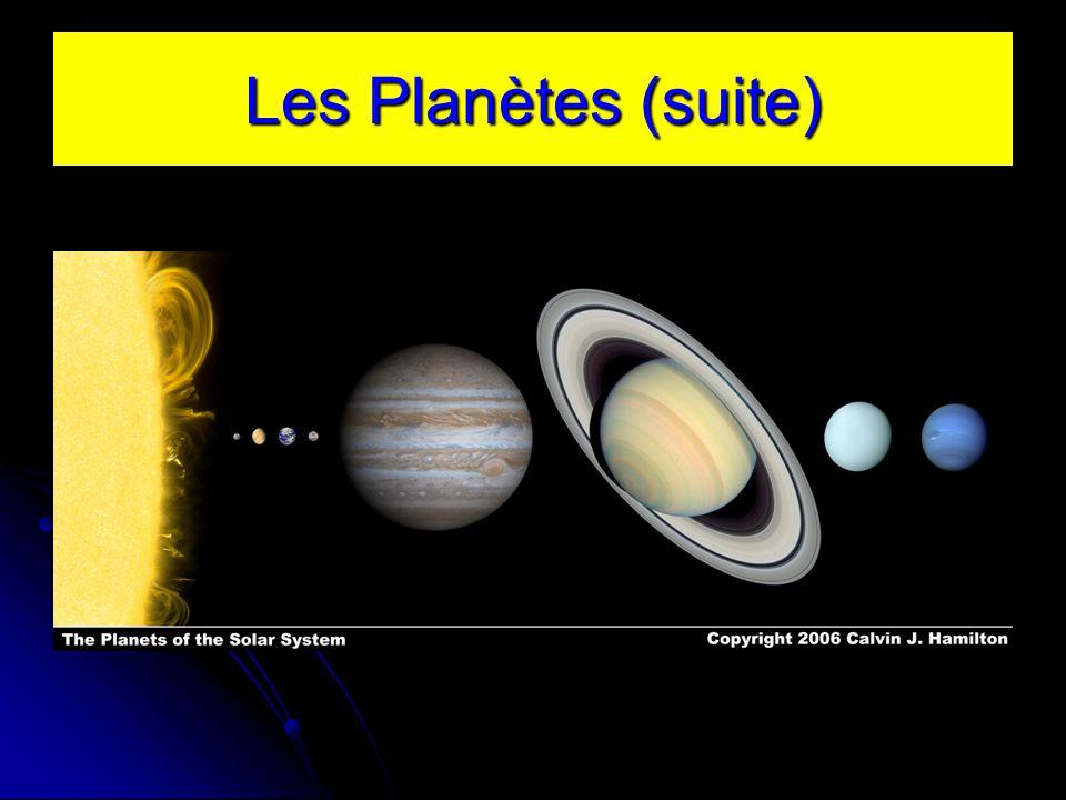 Les Planètes (suite)