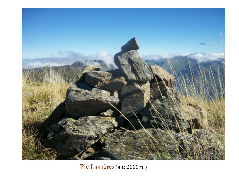 Pic Lasnères (alt: 2000 m)
