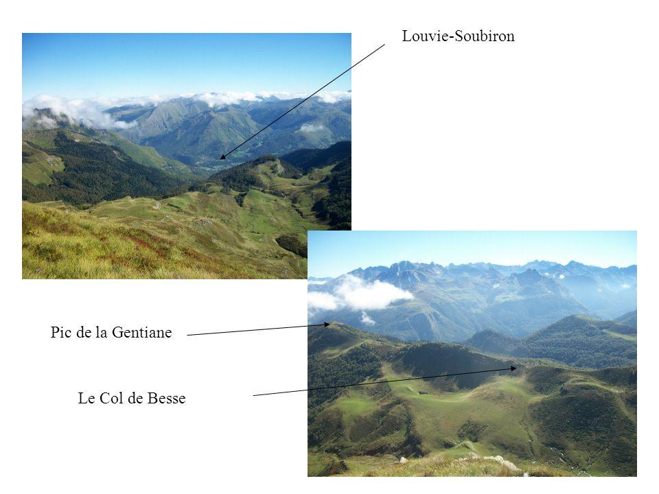 Louvie-Soubiron Pic de la Gentiane Le Col de Besse