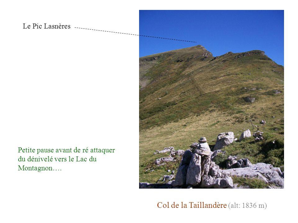 Col de la Taillandère (alt: 1836 m)
