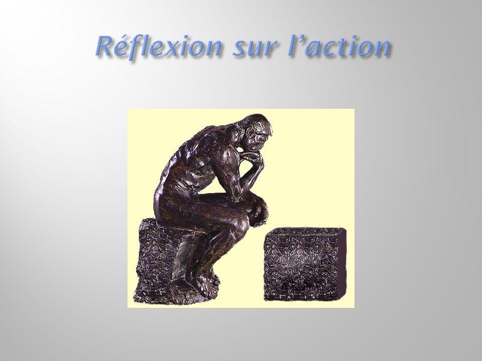 Réflexion sur l'action