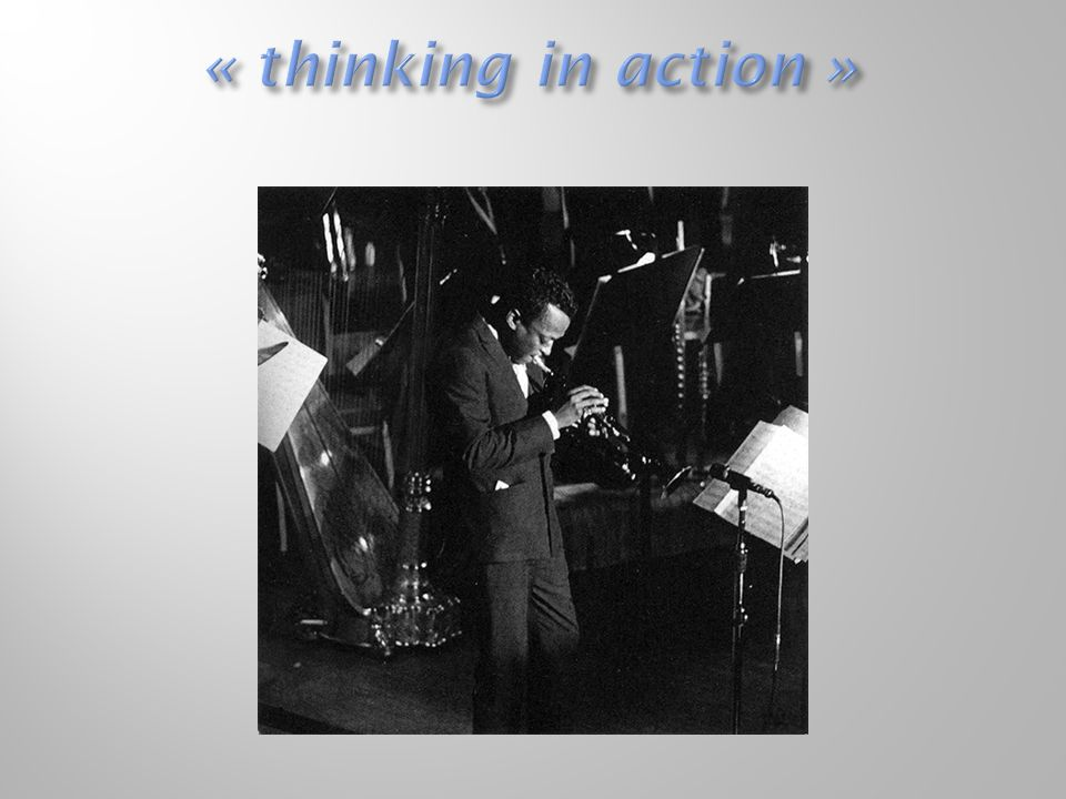 « thinking in action »
