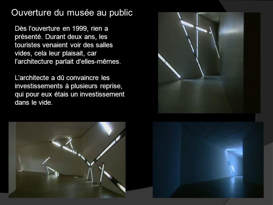 Ouverture du musée au public